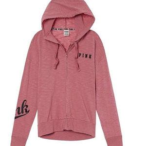 C 222 Victoria secret pink loose fitting hoodie